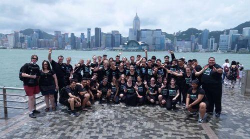 NZSSC in Hong Kong