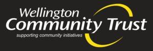 WCT Logo on black background