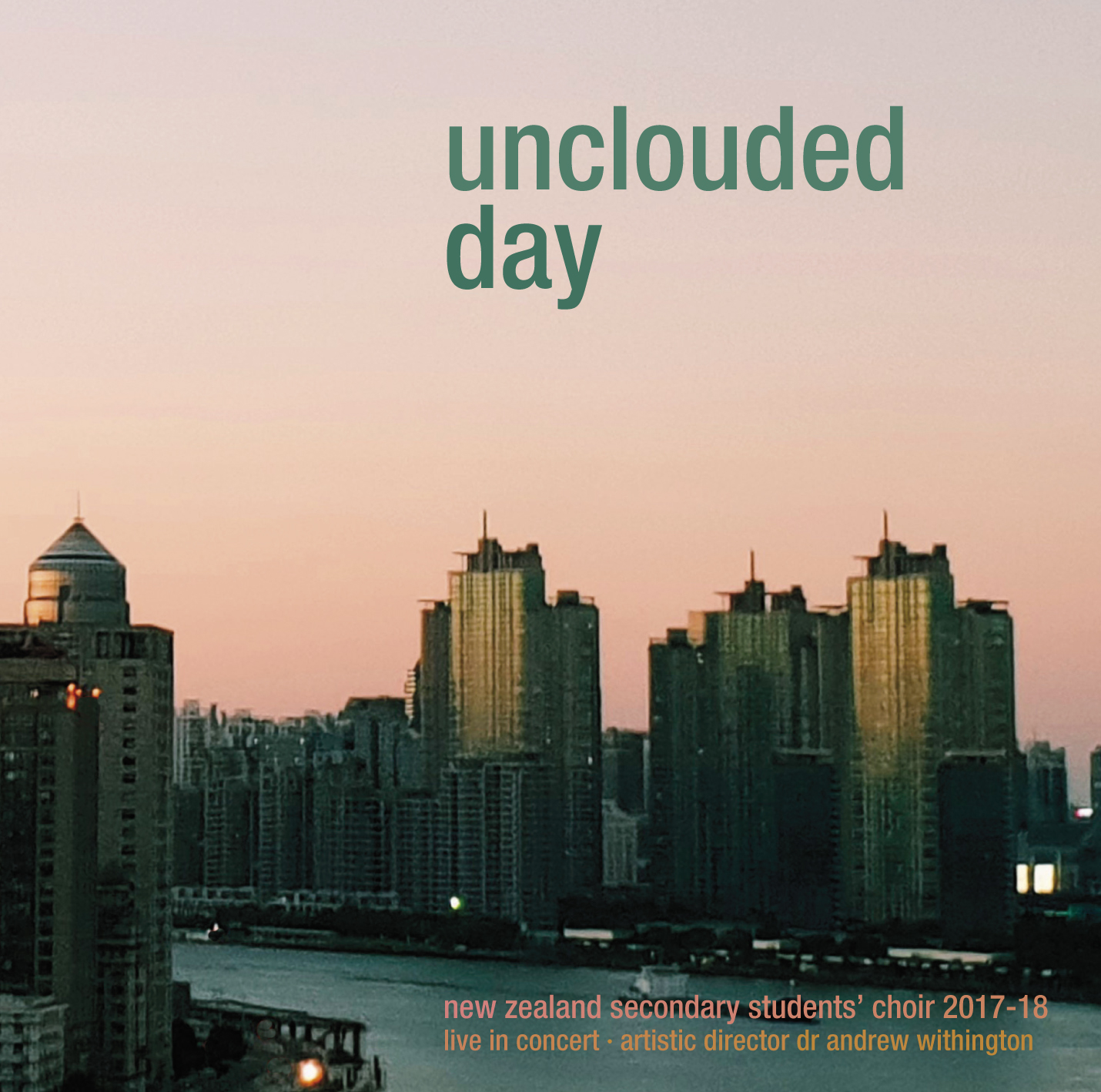 Unclouded day cover